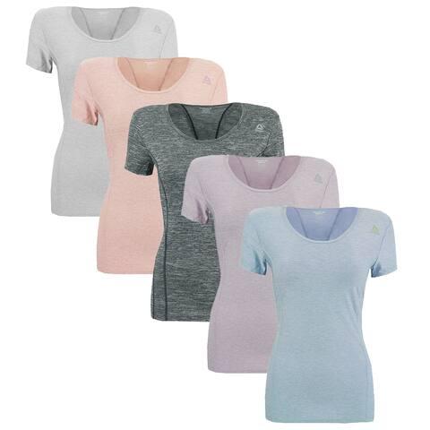 Reebok Women's Mystery T-Shirt 5-Pack - Assorted