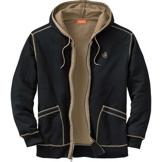 Legendary Whitetails Mens Eliminator Full Zip - Black
