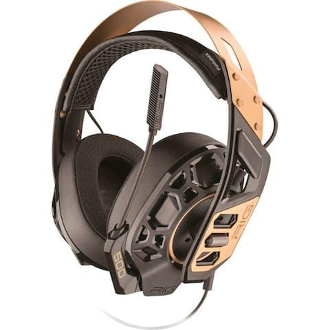 Refurbished Plantronics RIG 500 PRO Gold Headset