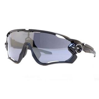 OAKLEY Shield Jaw Breaker Unisex 01 Polished Black Black Iridium Sunglasses - 99mm-0mm-121mm