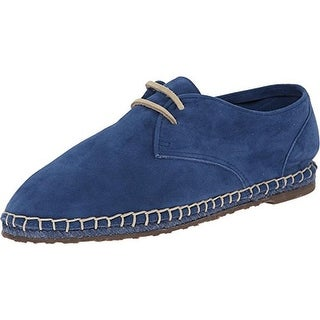 Sebago Womens Darien Suede Espadrille Oxfords - 8 medium (b,m)