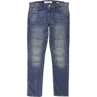 Link to GUESS Mens Tapered Slim Fit Jeans, Blue, 32W x 30L - 32W x 30L Similar Items in Pants