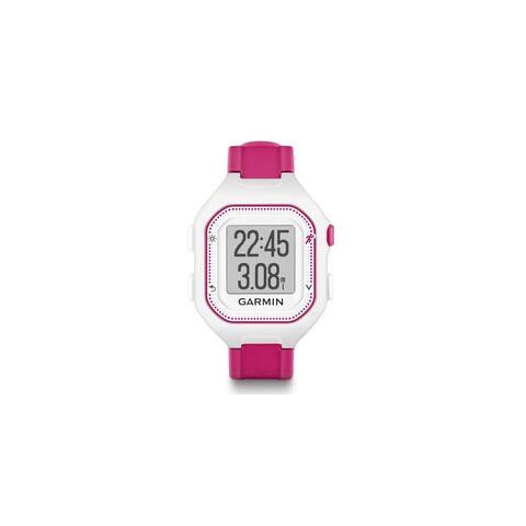 Refurbished Garmin Forerunner 25 White and Pink GPS Running Watch