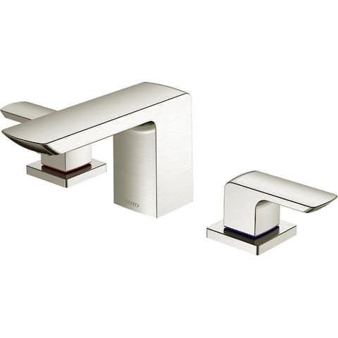 TOTO TLG02201U 1.2 GPM Double Handle Deck Mounted Widespread Bathroom