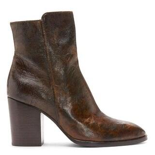 Donald J Pliner Womens Sonoma Closed Toe Ankle Fashion Boots Fashion Boots