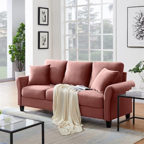 Modern 3-seater Velvet Sofa-82.03'' W x 30.30''D x 35.05''H