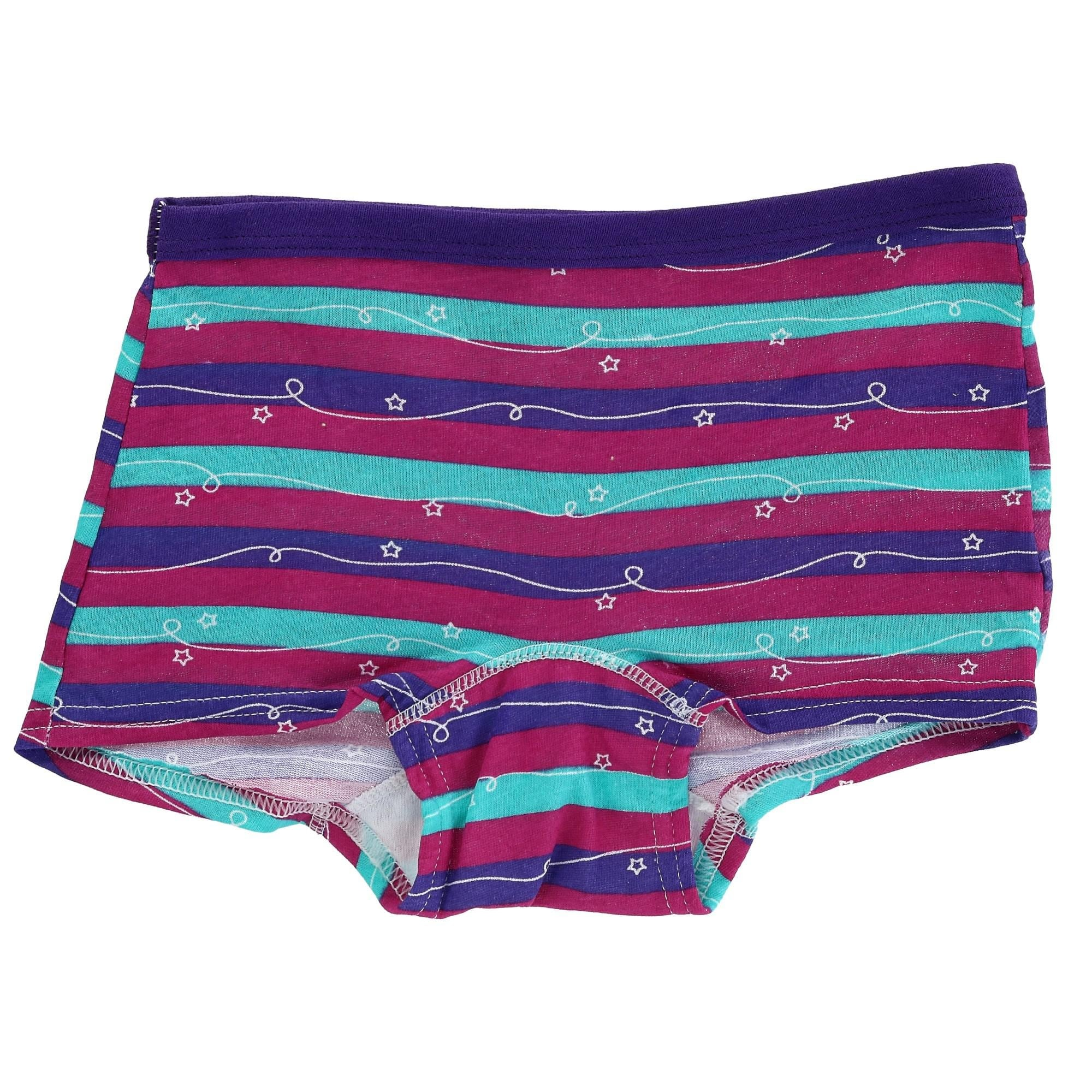 New in Original Package Fruit of The Loom Girl/'s Boy Shorts Size 4 Pack of 8
