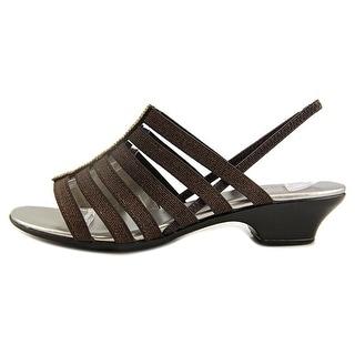 Karen Scott Womens Estevee Open Toe Casual Slingback Sandals