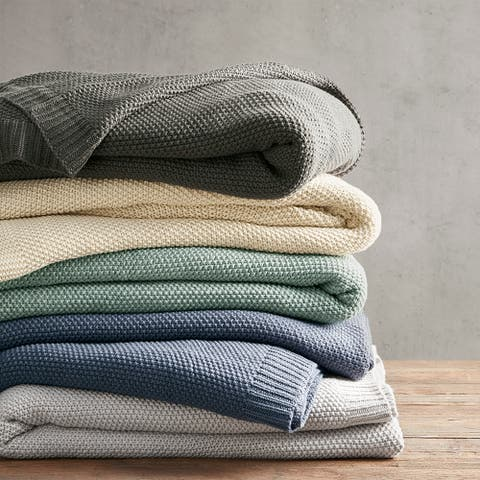 Carson Carrington Jekabpils Knit Blanket