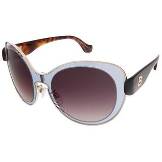 Balenciaga BA0002S 20T Grey/Havana Round sunglasses