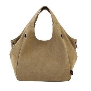 Vintage Tide College Wind Shoulder Bag Large Capacity Package