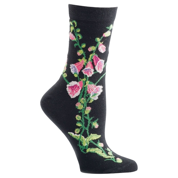 Women's Witches' Garden and Apothecary Floral Socks - Cotton - Fairy Glove