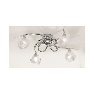 Mantra Lighting 807 Bali 4 Light Flush Mount Ceiling Fixture