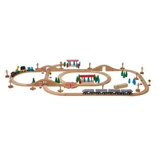 Childcraft Deluxe Express Train Set, 100 Pieces