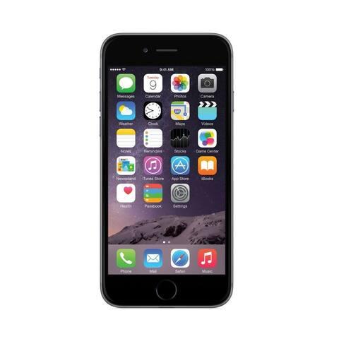 Apple iPhone 6 Plus 16gb Space Gray Unlocked - black