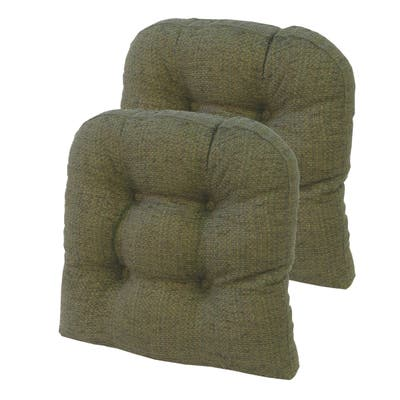"Gripper Tyson Large 17"" x 17"" Universal Chair Cushion, Set of 2"