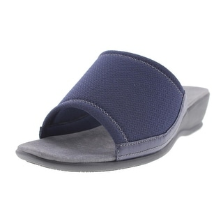 Trotters Womens Lucca Casual Slide Wedge Sandals - 10.5 extra wide (e+, ww)