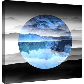 "PTM Images 9-100531  PTM Canvas Collection 12"" x 12"" - ""Celestial Landscape 1"" Giclee Mountains Art Print on Canvas"