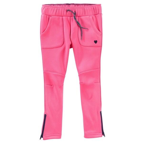 766e4b75 OshKosh B'gosh Big Girls' Tricot Track Pant, Pink, 10 Kids
