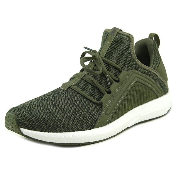 Puma Mega Nrgy Knit Men Round Toe Synthetic Green Sneakers