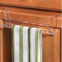 Clear Over The Cabinet Towel Bar