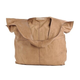 Givanchy Sand Brown George V Brown Nappa Leather Hobo Tote