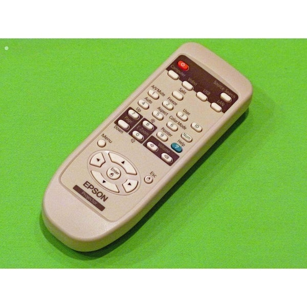 OEM Epson Remote Control Originally Shipped With: EB-1900, EB-1910, EB-1915