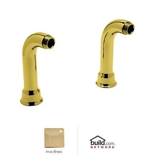 "Rohl AR00380 Cisal Set of 6-1/2"" Deck Unions"