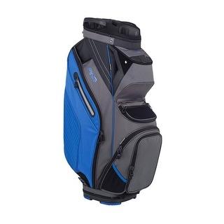 New Ping 2018 Pioneer Golf Cart Bag (Graphite / Blue) - graphite / blue
