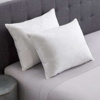 Link to Cozy Classics Hotel Collection 230 Thread Count Cotton Quilted Pillow Similar Items in Pillows