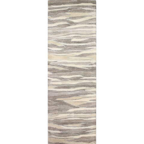 Bashian Mack Contemporary Hand Tufted Area Rug