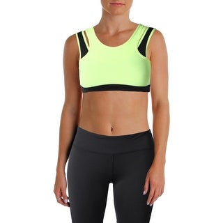 Central Park Womens Sports Bra Quick Dry Layered