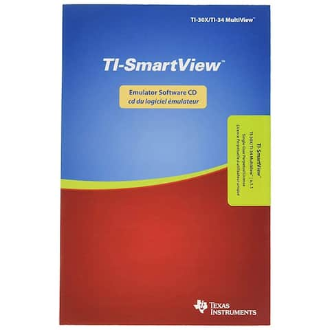 Texas Instruments TI-30/34 MV SV Emulator Software MVEMU-SP-KT-2L1-B TI-30-34 MV SV Emulator Software