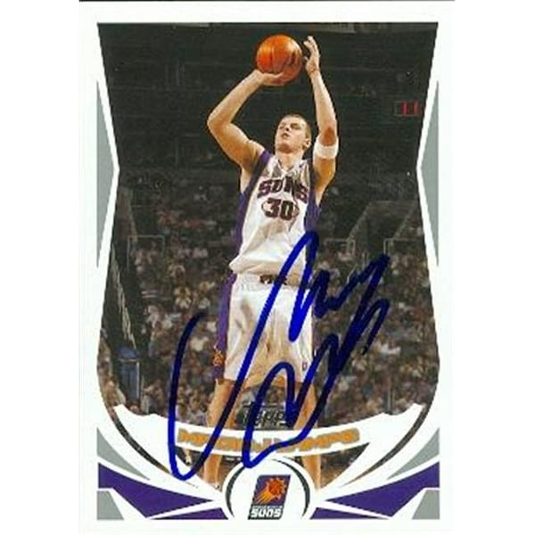Shop Maciej Lampe Autographed Basketball Card Phoenix Suns 2004