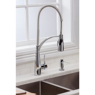 Elkay LKAV4061 Avado Pre-Rinse Pullout Spray Kitchen Faucet with Multi-Function Spray Head