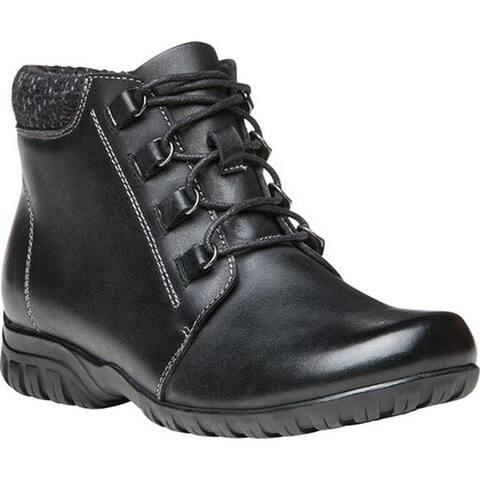 Propet Women's Delaney Boot Black Leather
