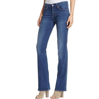 7 For All Mankind Womens Karah Bootcut Jeans Regular Fit Stretch