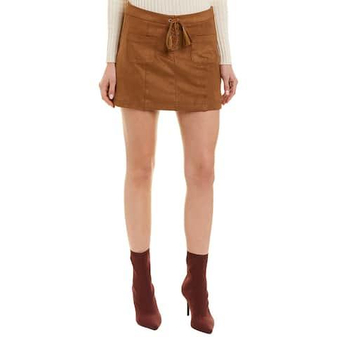 Ella Moss Faux Suede Skirt