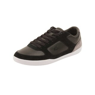 Lacoste Mens Court-Minimal 316 Sneakers in Black (Option: 12)