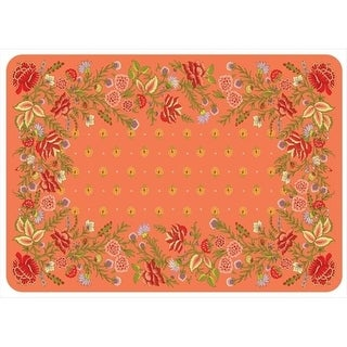 20491582231 Palazzo Mat in Coral - 1.83 ft. x 2.58 ft.