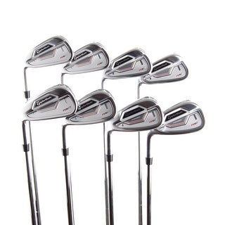 New TaylorMade RSi 2 Irons 3-PW Stiff Flex FST Steel LEFT HANDED