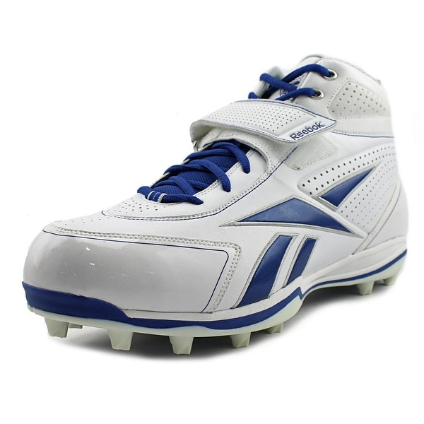 Reebok Pro Thorpe III MP2 Men White/Dark Royal Cleats