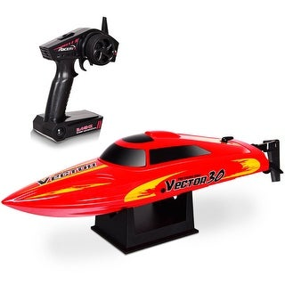 Shop Golden Bright Full Function Radio Control Red Boat