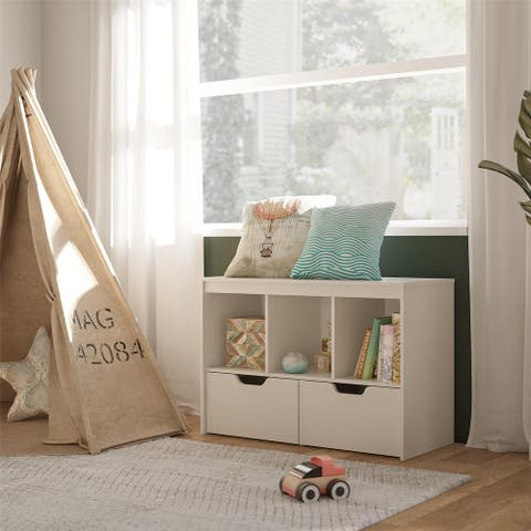 Avenue Greene Nathan Kids Storage Cube with Drawers