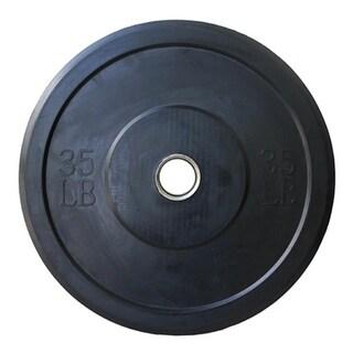 Valor Athletic BP-35 35lb Bumper Plates - Sold as EACHES - Black