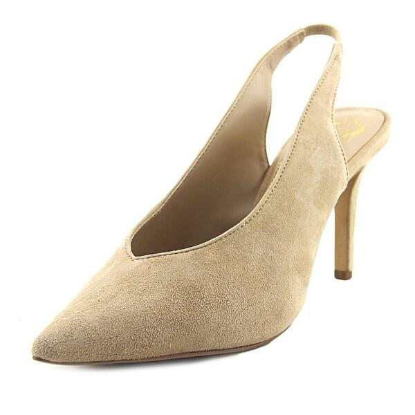 5e96b12170 Shop Vince Camuto Bienne Women Pointed Toe Suede Tan Slingback Heel ...