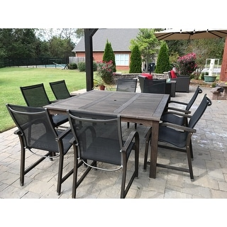 Havenside Home Tottenville 9-piece Square Dining Set