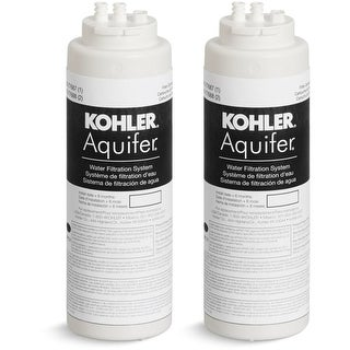 Kohler K-77688 Two-Pack Replacement Filter Cartridges