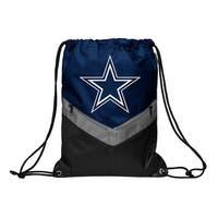 Dallas Cowboys Victory Stripe Zipper Drawstring Backpack