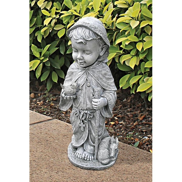 Design Toscano Baby Saint Francis Sculpture: Small